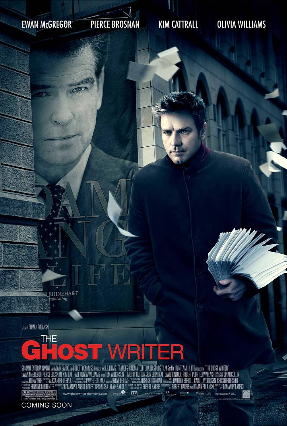 Cover van Ghost Writer, The