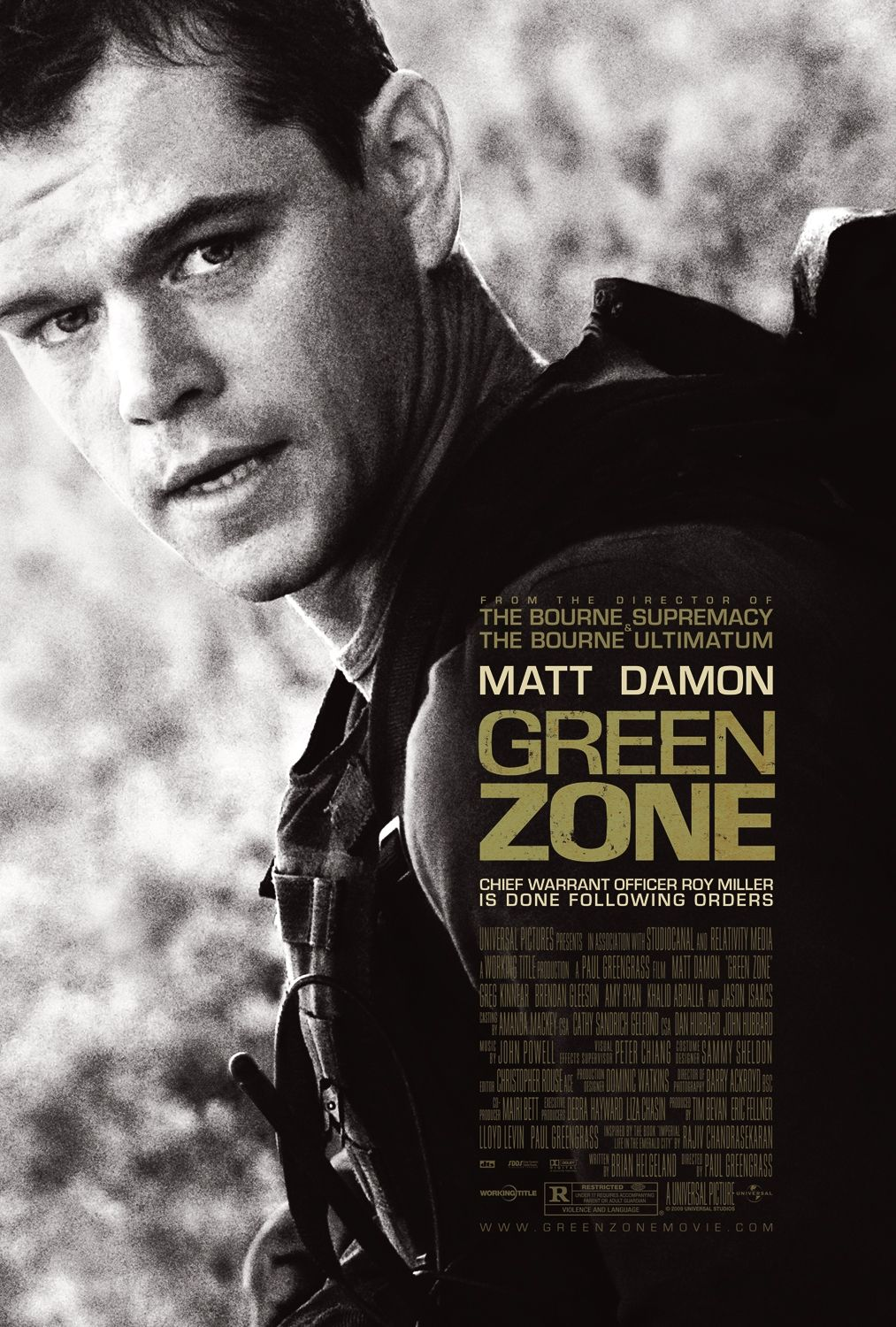 Cover van Green Zone
