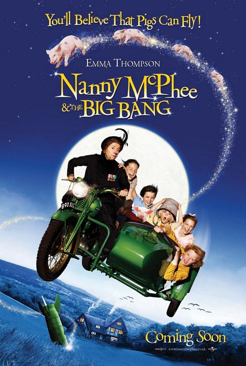 Cover van Nanny McPhee and the Big Bang