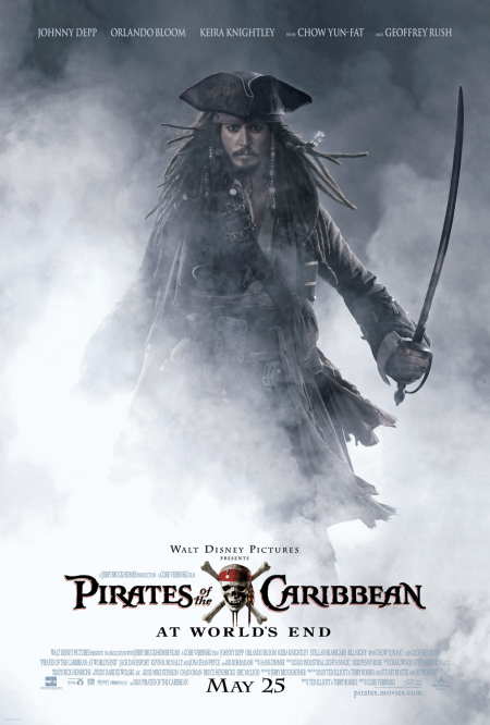 Cover van Pirates of the Caribbean: At World's End