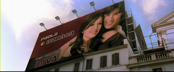 Billboard of Isabella & Paolo